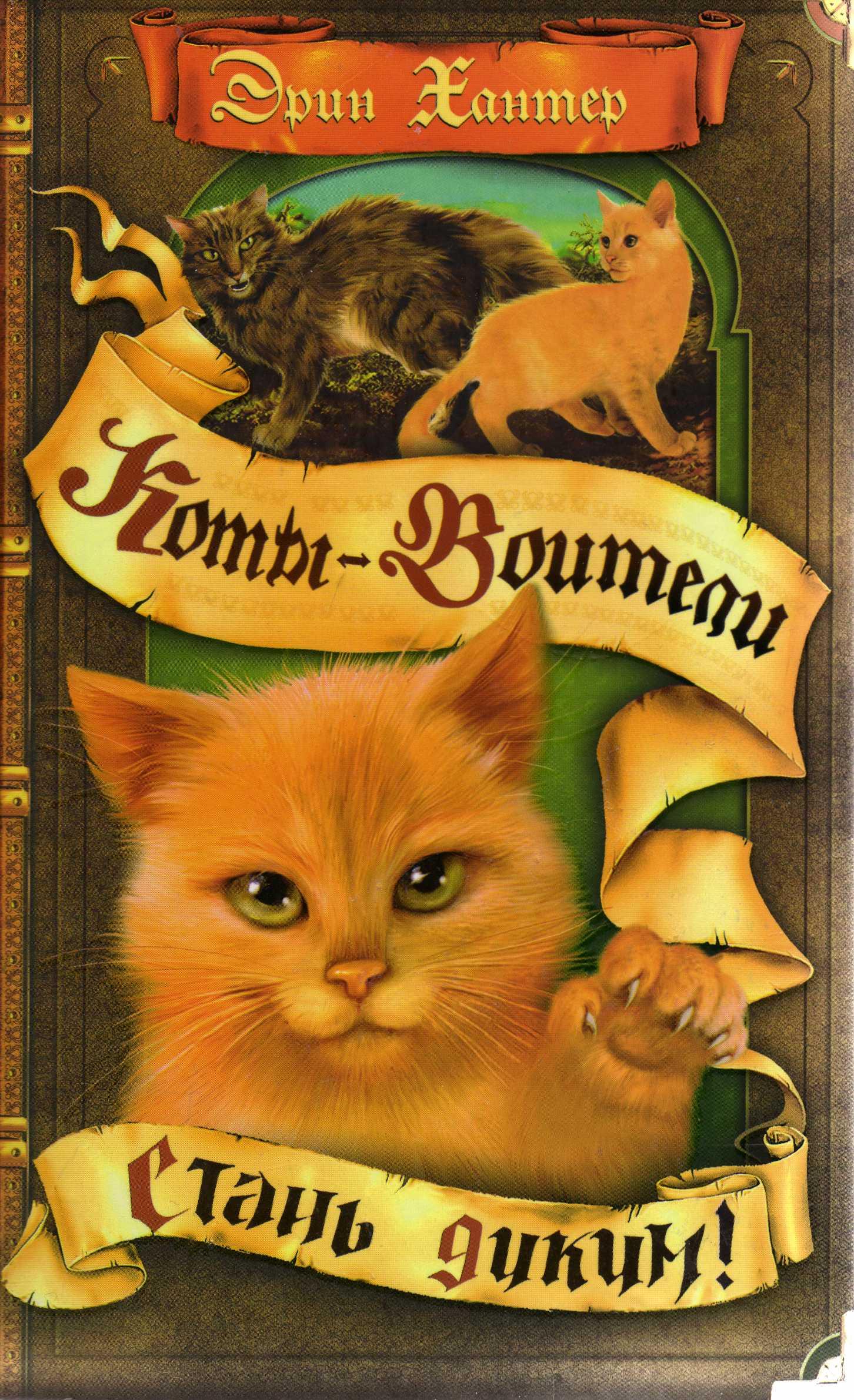 Первая книга серии Коты-воители Стань диким! рассказывает об